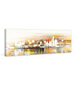 Parvez Taj Hong Kong Art Print on Premium Canvas