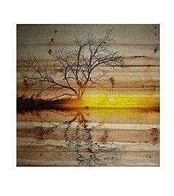Parvez Taj Killaloe Art Print on Natural Pine Wood