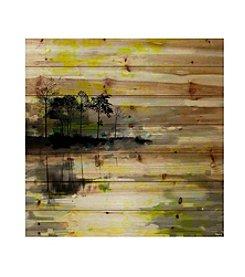 Parvez Taj Oshawa Art Print on Natural Pine Wood