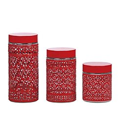 PURELIFE™ by Ragalta® 3-pc. Glass Canister Set