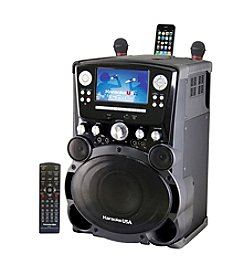 Karaoke USA Professional DVD/CD+G/MP3+G Karaoke Player with 7