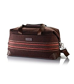 Hartmann® Ducord™ Black Walnut and Windsor Red Weekend Duffel