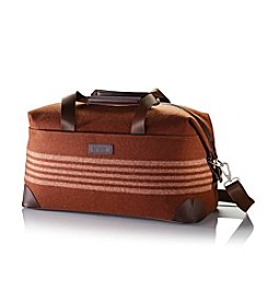 Hartmann® Ducord™ Nutmeg and Regimental Cream Weekend Duffel
