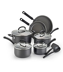 T-fal® Precision Ceramic Hard Anodized 12-pc. Cookware Set