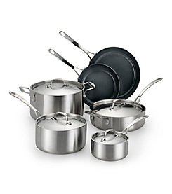 Lagostina® Axia Tri-Ply Stainless Steel 10-Pc. Set + FREE BONUS GIFT see offer details