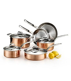 Lagostina® Martellata Tri-Ply Copper 10-pc. Set + FREE BONUS GIFT see offer details