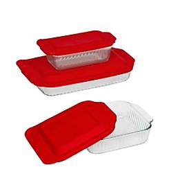 Pyrex® Sculpted 6-Pc. Bakeware Set