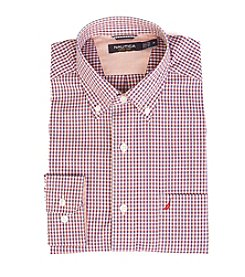 Nautica® Men's Long Sleeve Plaid Button Down Shirt