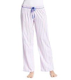 KN Karen Neuburger Striped Pajama Pants