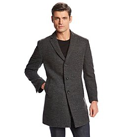 Calvin Klein Men's Marble Charcoal Topcoat