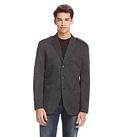 DKNY JEANS Men's Knit Hybrid Blazer