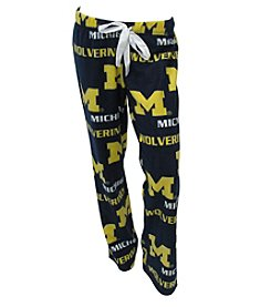 College Concepts NCAA® Michigan Wolverines Women's Facade Pants