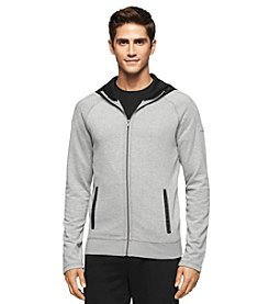Calvin Klein Jeans® Men's Full Zip Mixed Media Hoodie