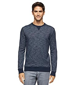 Calvin Klein Jeans® Men's Long Sleeve French Terry Crewneck Pullover