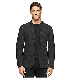 Calvin Klein Jeans® Men's Camo Peak Lapel Blazer