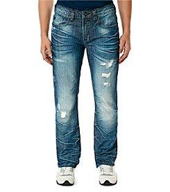 Buffalo by David Bitton Men's Six X Slim Straight Jeans