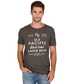 Lucky Brand® Men's Short Sleeve Old Pacific Graphic Tee