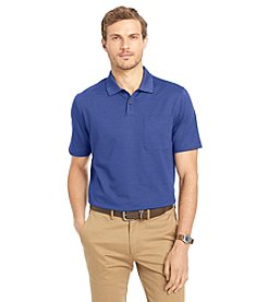 Van Heusen® Men's Short Sleeve Feeder Stripe Polo