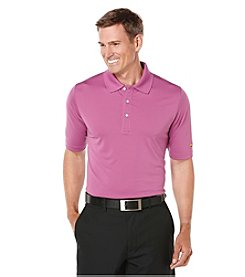 Jack Nicklaus Men's Short Sleeve Solid Jersey Polo