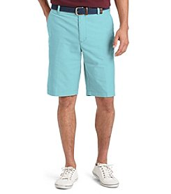 Izod® Men's Flat Front Newport Oxford Shorts