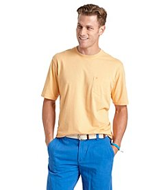 Izod® Men's Short Sleeve Crew Neck Pocket Tee