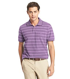 Izod® Men's Short Sleeve Oxford Stripe Polo