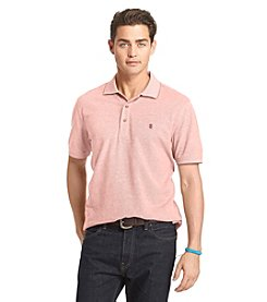 Izod® Men's Short Sleeve Oxford Solid Polo
