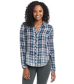 Cloth & Stone® Plaid Button Down Shirt