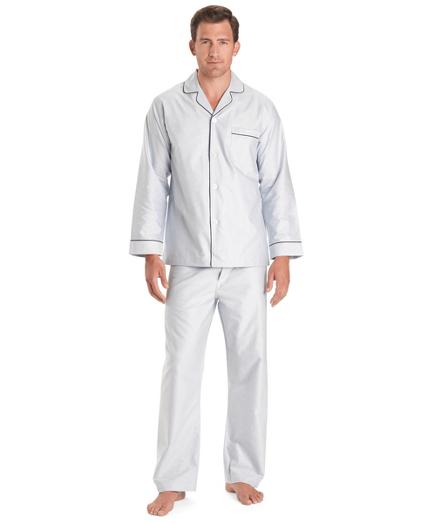 Wrinkle-Resistant Oxford Pajamas