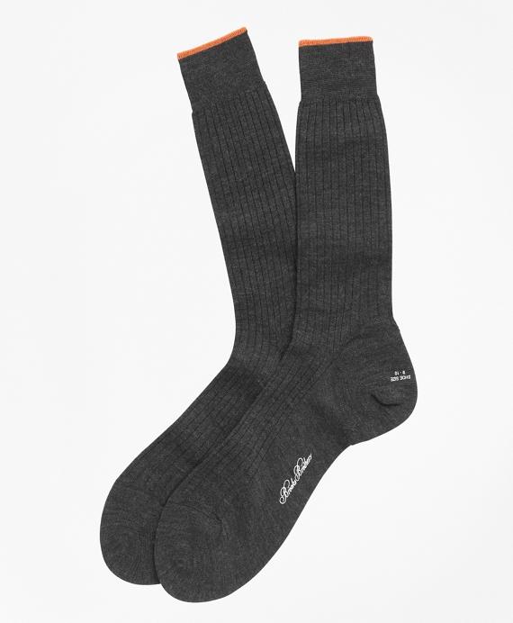 Merino Wool Golden Fleece® Sized Crew Socks Grey