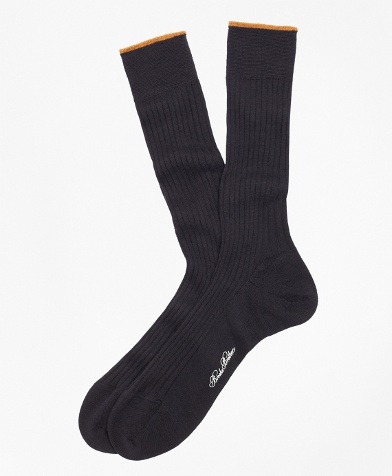 Merino Wool Golden Fleece® Sized Crew Socks Navy