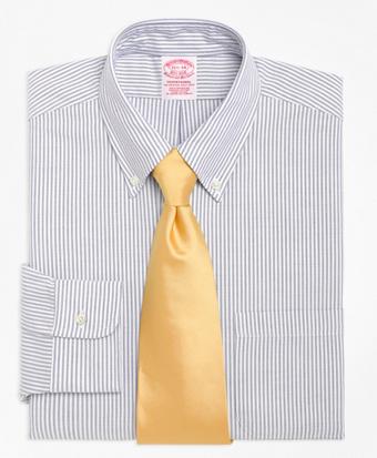 Traditional Fit Stripe Dress Shirt