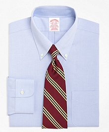 Non-Iron Traditional Fit Button-Down Collar Dress Shirt