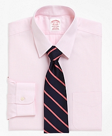 Non-Iron Traditional Fit Point Collar Dress Shirt