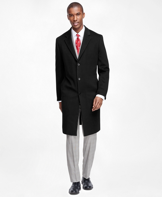 BrooksStorm® Long Town Coat Black