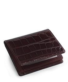 Alligator Trifold Wallet