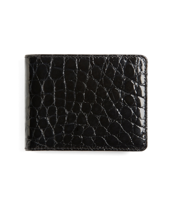 American Alligator Wallet Black