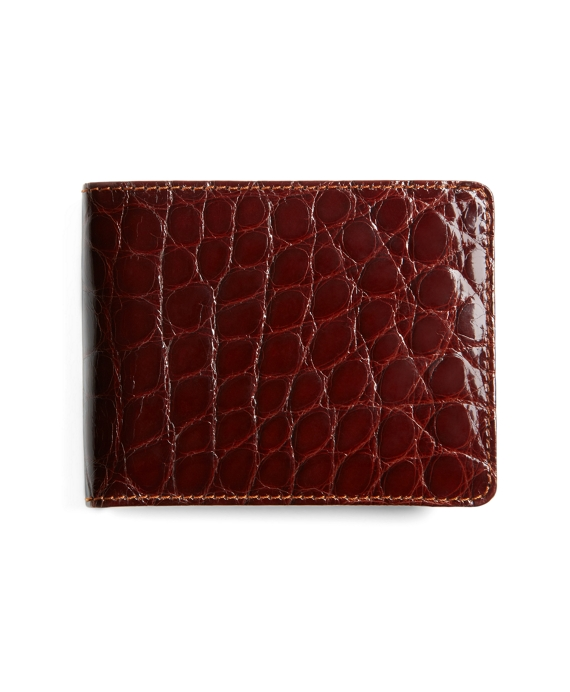 American Alligator Wallet Brown