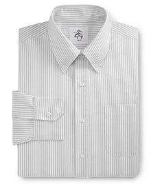 Stripe Button-Down Dress Shirt