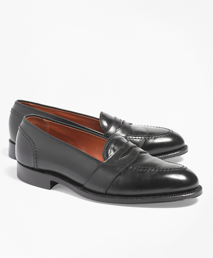 Cordovan Low Vamp Loafers