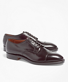 Cordovan Leather Straight Tips
