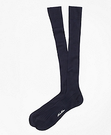 Pima Sized Over-the-Calf Socks