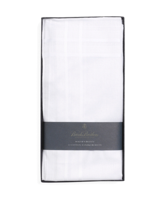 Pure Cotton Handkerchiefs - 13pk