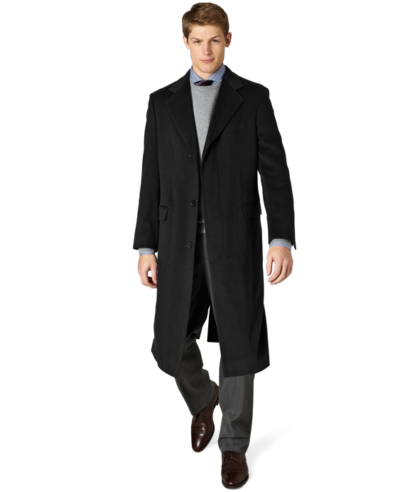 Golden Fleece® Westbury Overcoat Black
