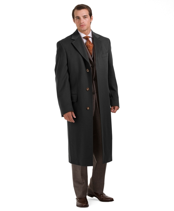 Golden Fleece® Westbury Overcoat Charcoal
