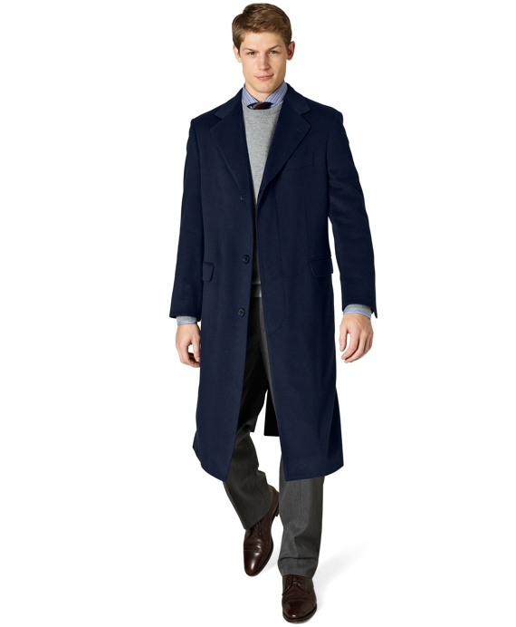 Golden Fleece® Westbury Overcoat Navy