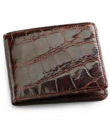 Alligator Card Case with Money Clip