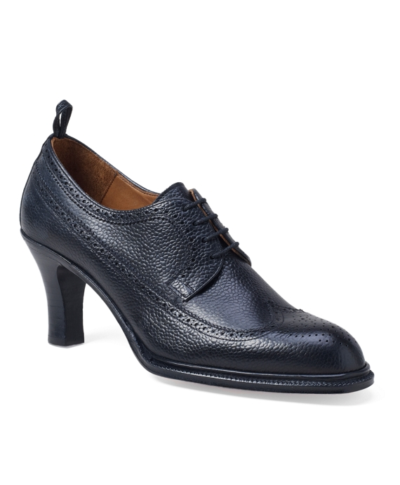 Wingtip Shoe Black