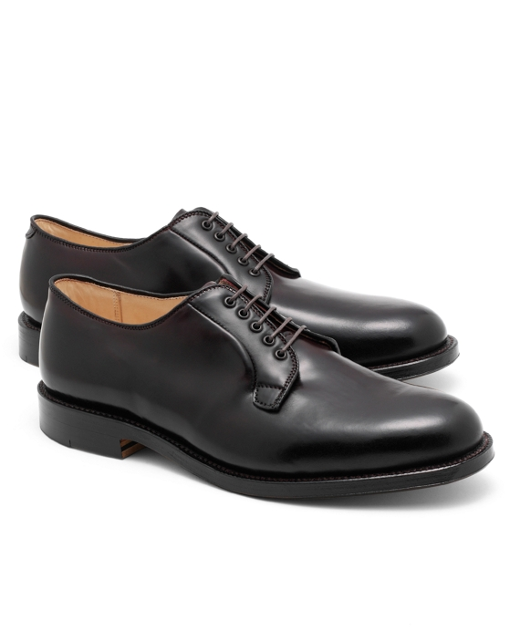 Cordovan Leather Bluchers Burgundy