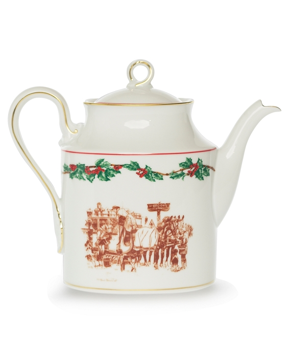 BB Holiday China by Richard Ginori - Tea/Coffee Server As Shown
